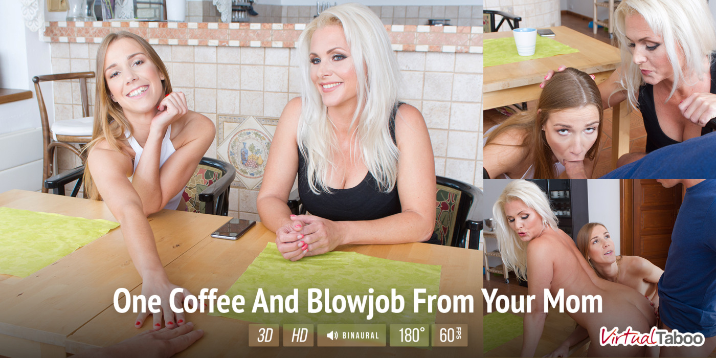 Very coffee for a blowjob probably